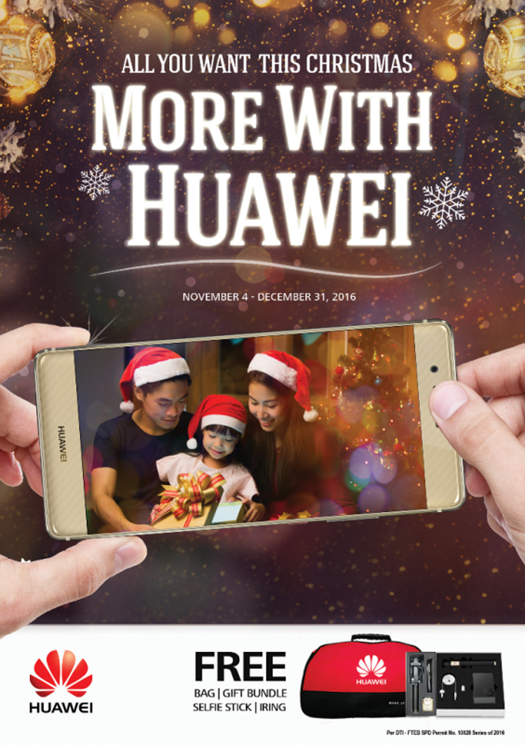 More with Huawei