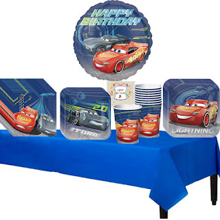 Cars 3 party supplies