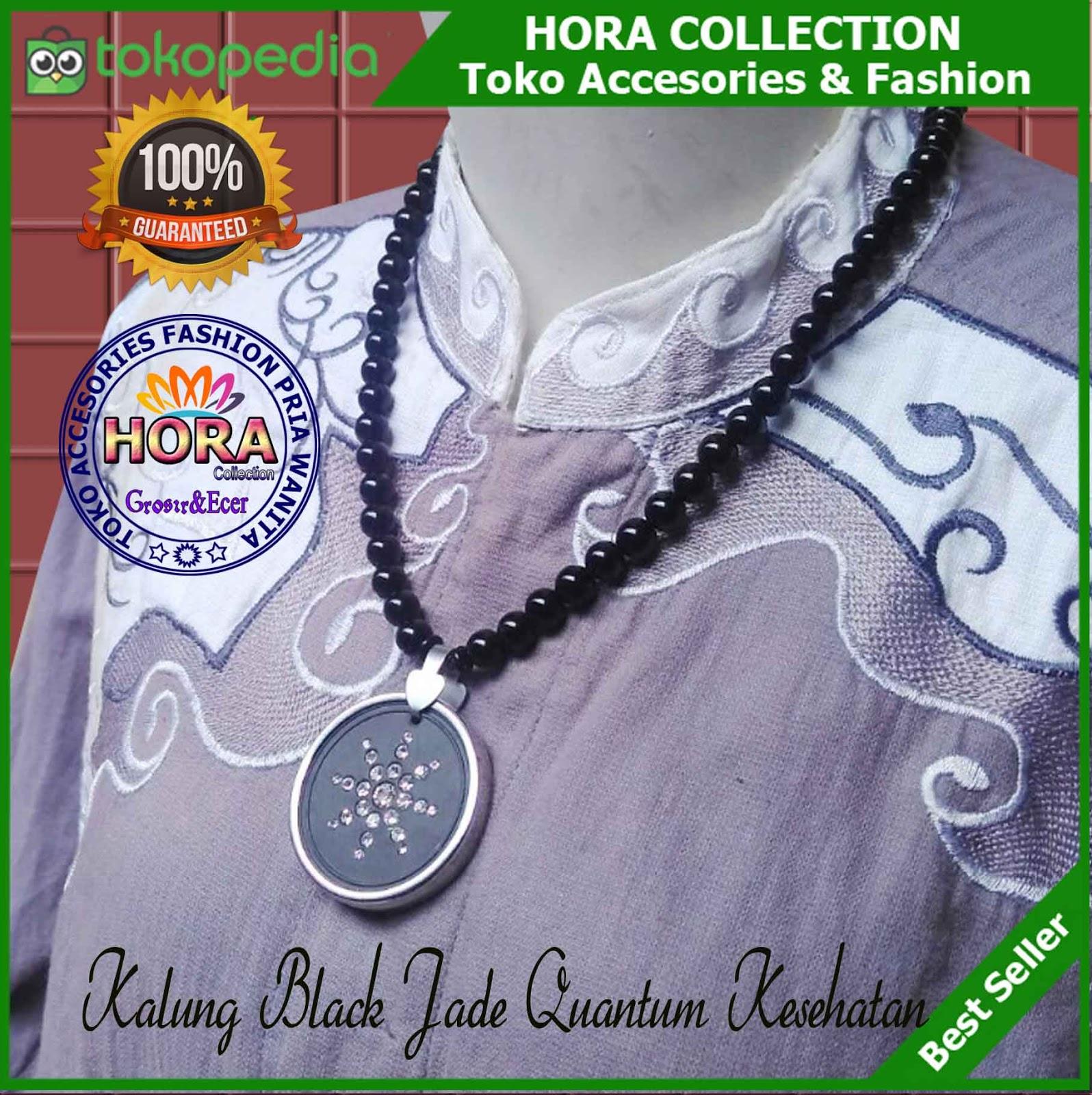Ora Collection Hora H Kalung Black Jade Untuk Kesehatan Quantum Liontin Dengan Harga Rp 249900 Dari Toko Online Kudus Cari Produk Lainnya Di Tokopedia