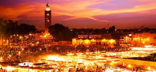 Jamaâ Lfna à Marrakech