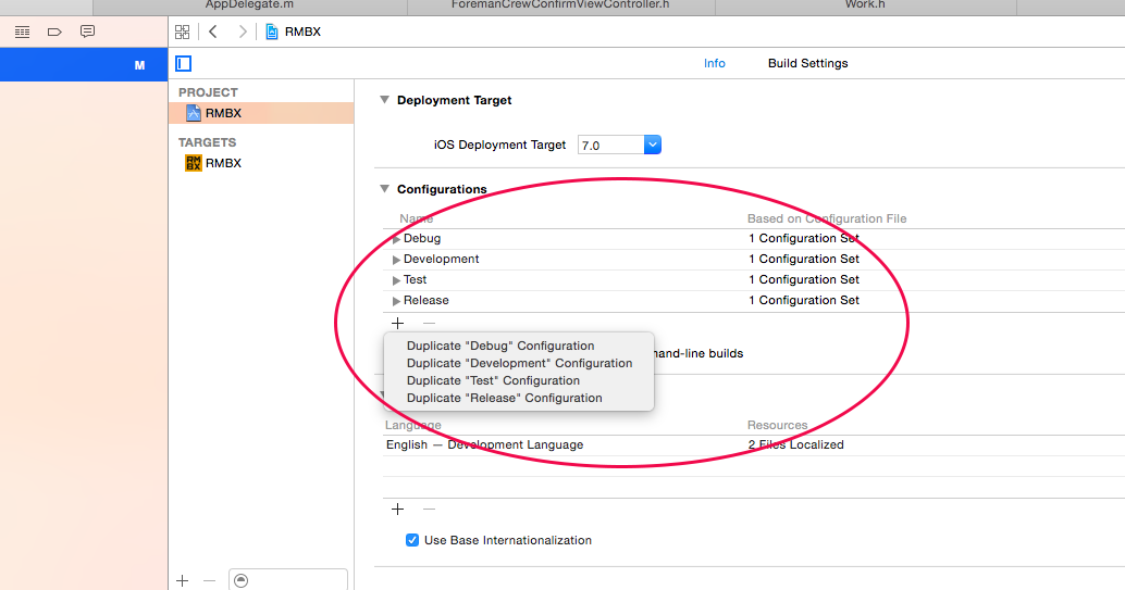 Configure XCode to build for different environments | Kenneth Jiang