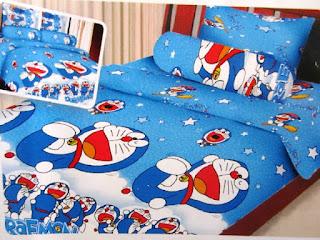 Contoh Seprei Motif Doraemon - Kamar Anak 200167