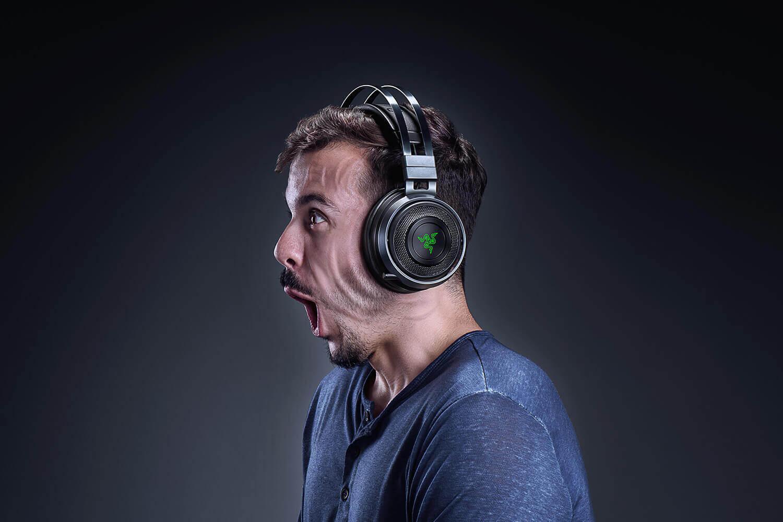Razer Nari Ultimate Gaming Headset Featuring Haptics By Lofelt