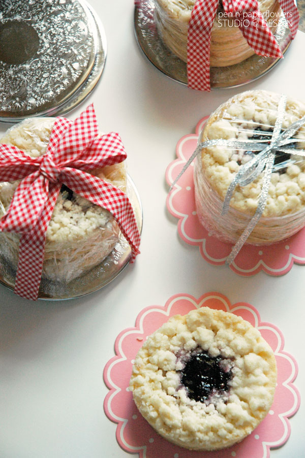 Pen Paper Flowers Inspire Bloggers Bakers Holiday Cookie Exchange