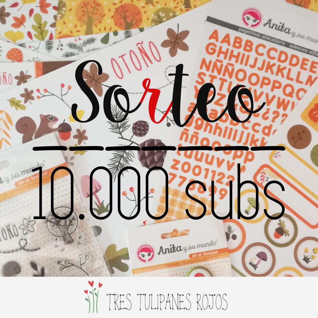 SORTEO YOUTUBE 10K
