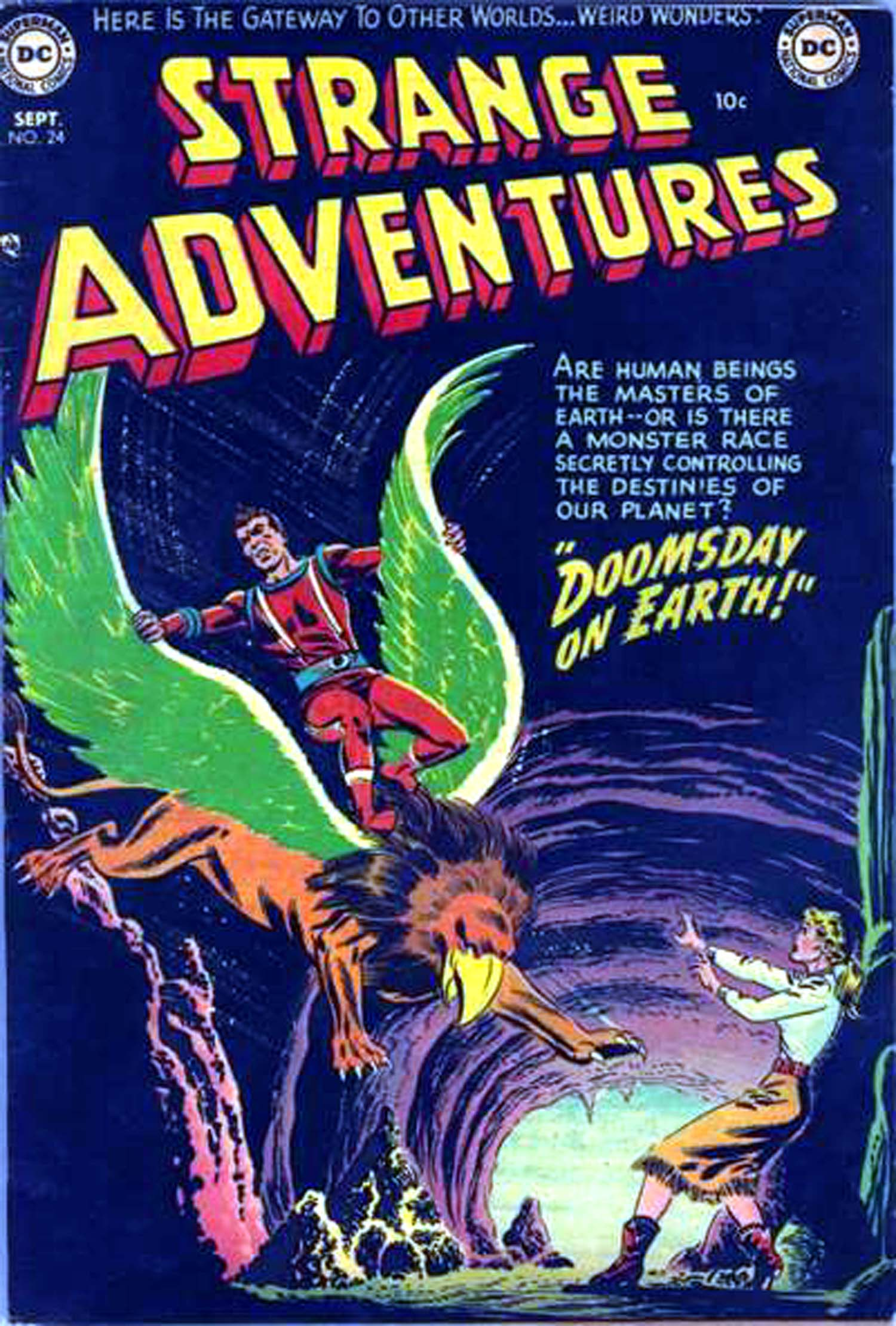 Strange Adventures (1950) issue 24 - Page 1