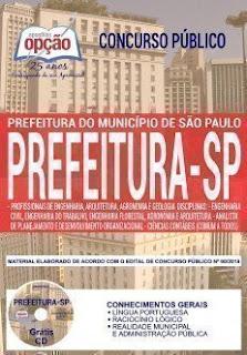 Baixar Apostila Prefeitura de São Paulo 2018 PDF Download