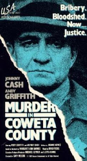 Asesinato en Coweta (1983) Thriller con Johnny Cash
