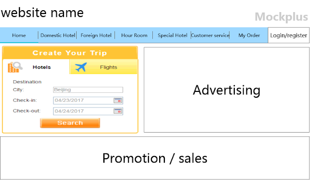 Ads & Promotion responsive design