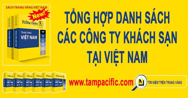 Tổng hợp danh sách các công ty khách sạn tại Việt Nam