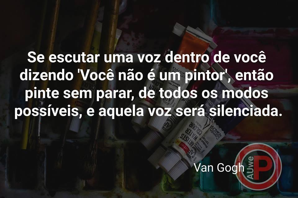 Frase sobre pintura | Van Gogh