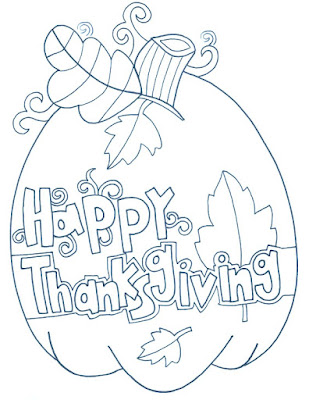happy thanksgiving coloring page 2017