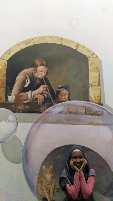 Trick Art Gallery di Main Go Kart di Batu Night Spectacular Tempat Wisata Malang