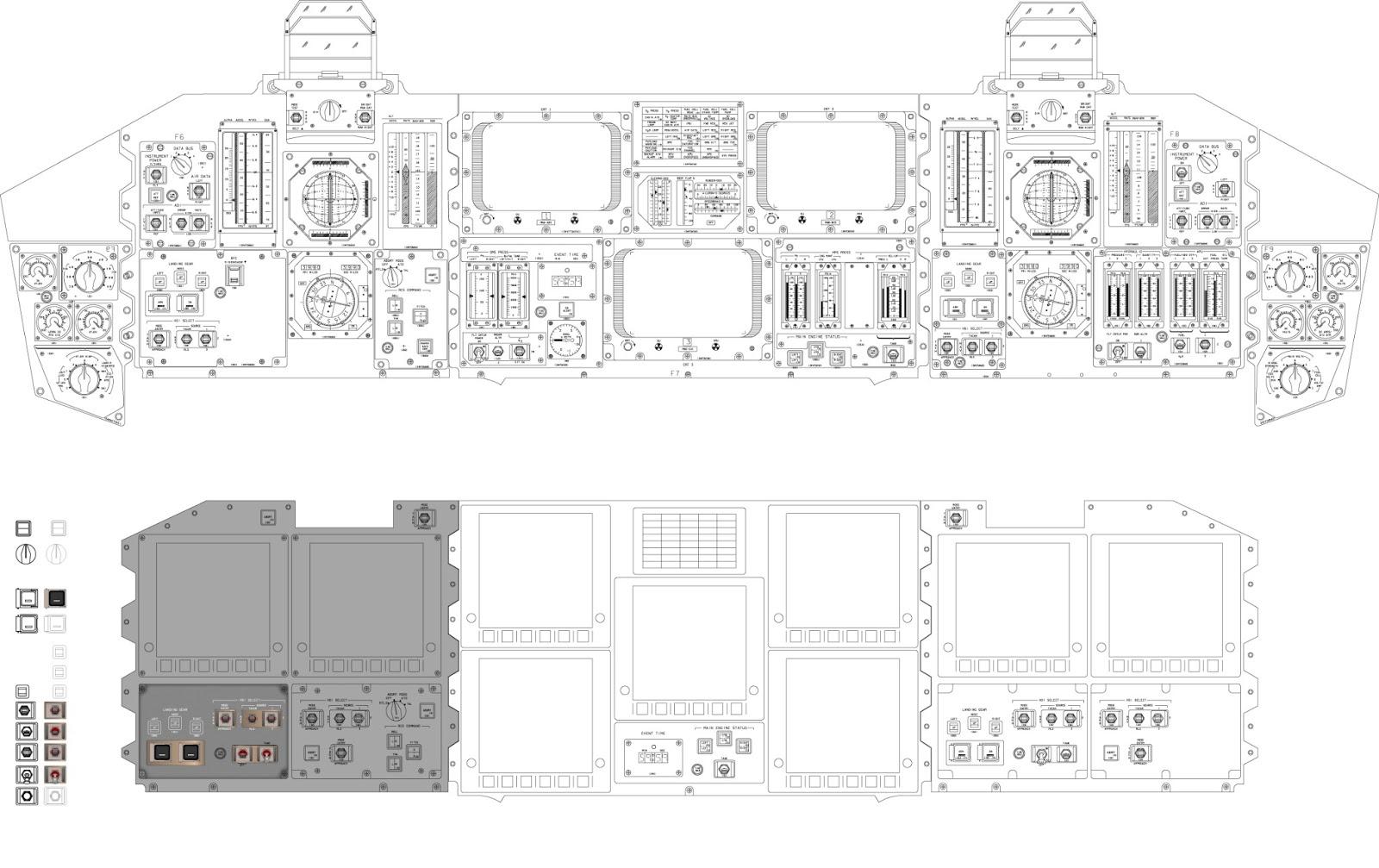 Desktopsimmer's 3D Models: More Old Space Shuttle Data
