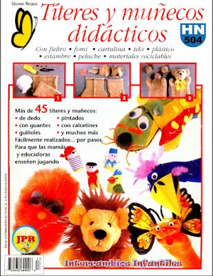 TITERES Y MUÑECOS (PREESCOLAR Y PRIMARIA)