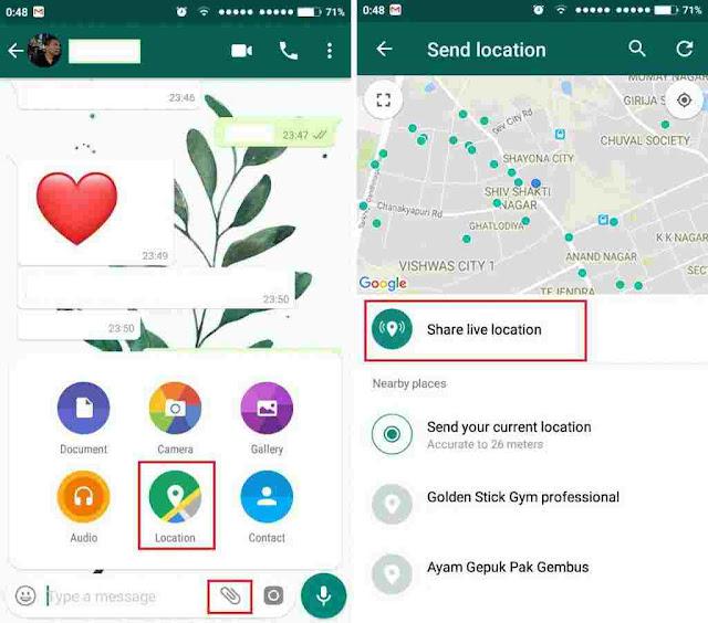 Fitur rahasia Whatsapp ini bisa lacak posisi pasanganmu loh, buruan coba 1