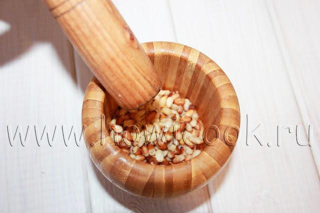 рецепт соуса песто с пошаговыми фото