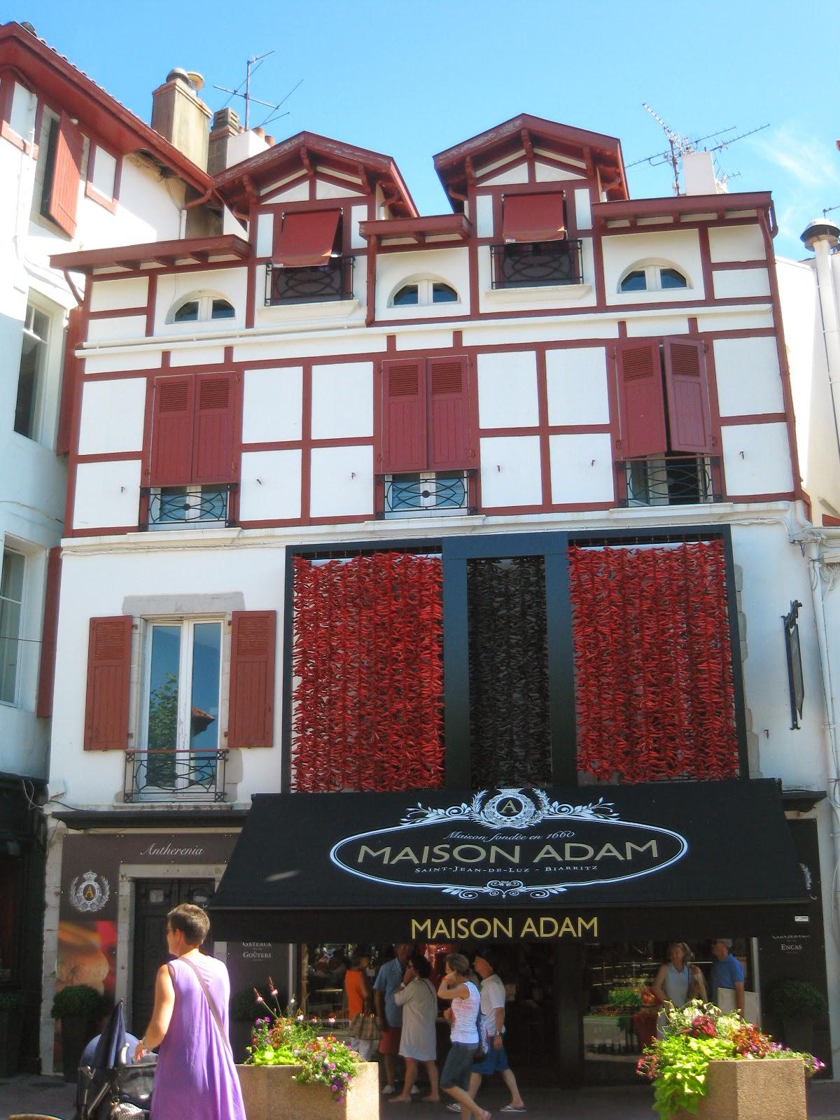 Chocolatería Maison Adam en San Juan de Luz