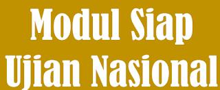 Modul siap Ujian Nasional 2015/2016