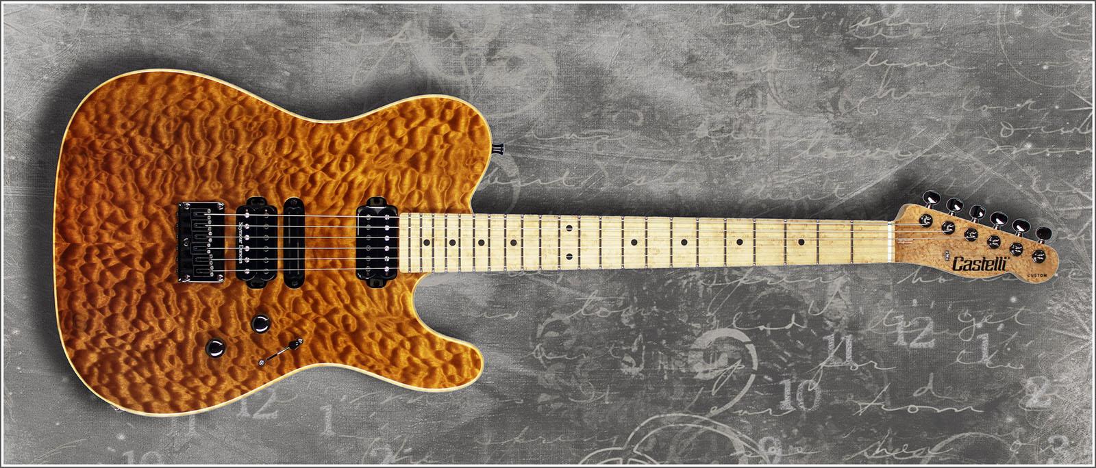 Louco por guitarra telecaster castelli custom for Guitarras de luthier