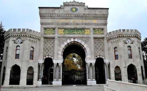 Bâb-ı Seraskerî istanbul üniversitesi ana giriş kapısı