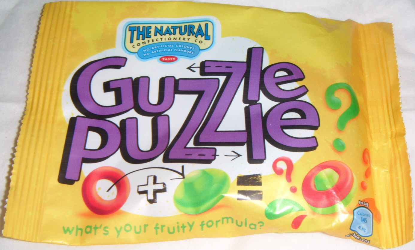 FOODSTUFF FINDS: Guzzle Puzzle Sweets [The Natural