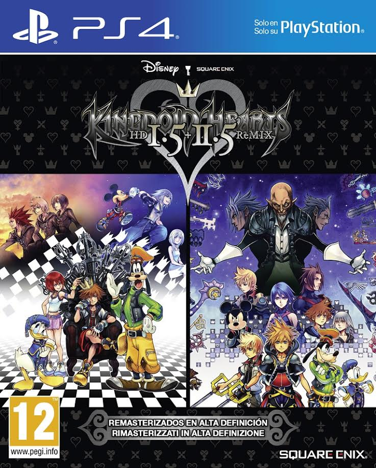Kingdom Hearts HD 1.5 + 2.5 ReMIX añade secuencia cinemática y modo teatro