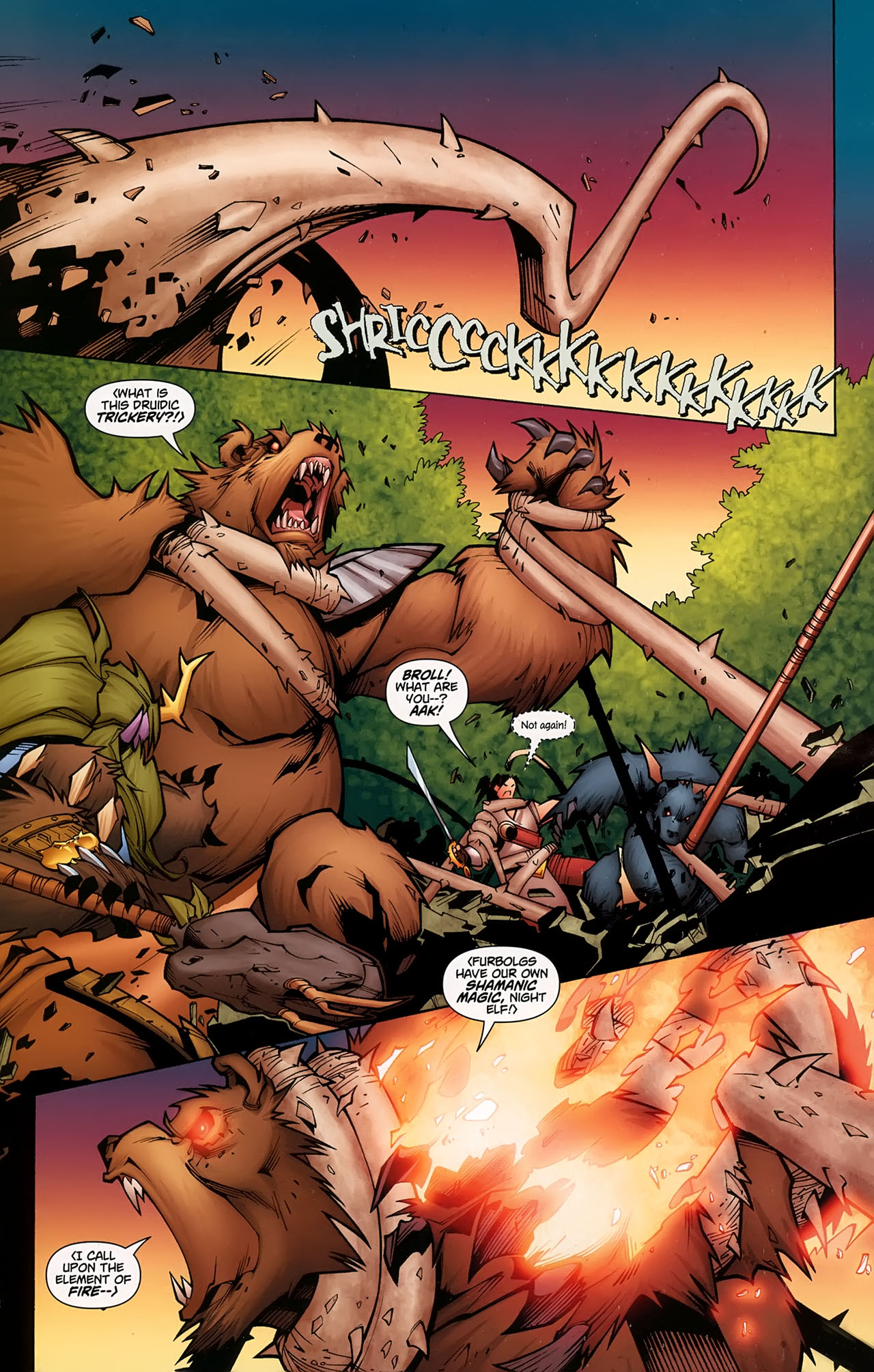 Read online World of Warcraft comic -  Issue #5 - 6