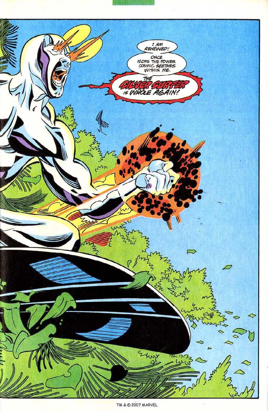 Read online Silver Surfer (1987) comic -  Issue #85 - 21