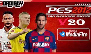 تحميل لعبة PES 2012 MOD PES 2020 V20 للاندرويد من ميديا فاير