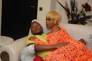 Photos: Nollywood diva, Ejine Okoroafor stuns on set of star-studded movie, True Vision