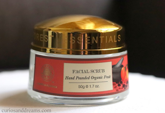Forest Essentials Hand Punded Organic Fruit Scrub review