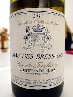 Mas des Bressades Cuvée Tradition Blanc 2017 (88 pts)