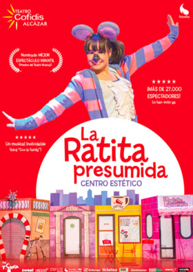 L'La Ratita Presumida, Centro Estético', musical infantil en el