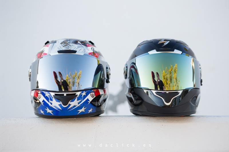 cascos de moto novios moteros