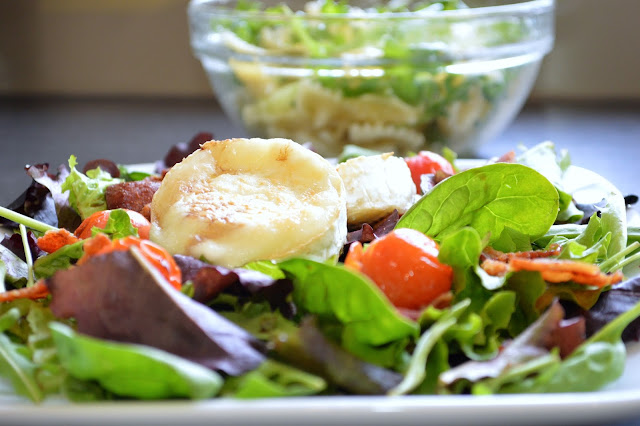 Melting Goat's Cheese Salad