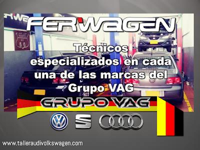 Taller Ferwagen Volkswagen, Audi Seat Bogota