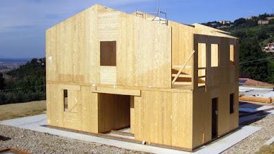 sistema costruttivo in legno xlam