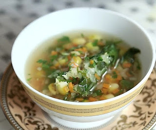 How to make Lemon Coriander Soup Step by Step