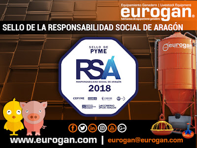 EUROGAN S.L. obtiene el sello de responsabilidad de Aragón