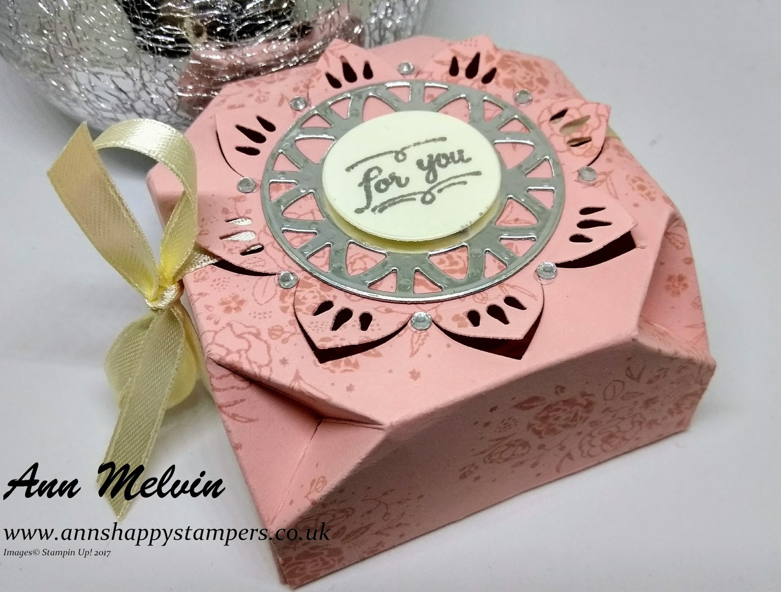 Positively papercraft: unusual Shaped Gift Box