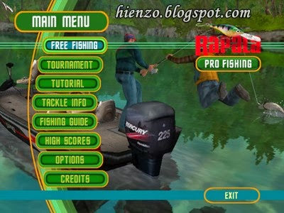 Rapala Pro Fishing PC Gameplay