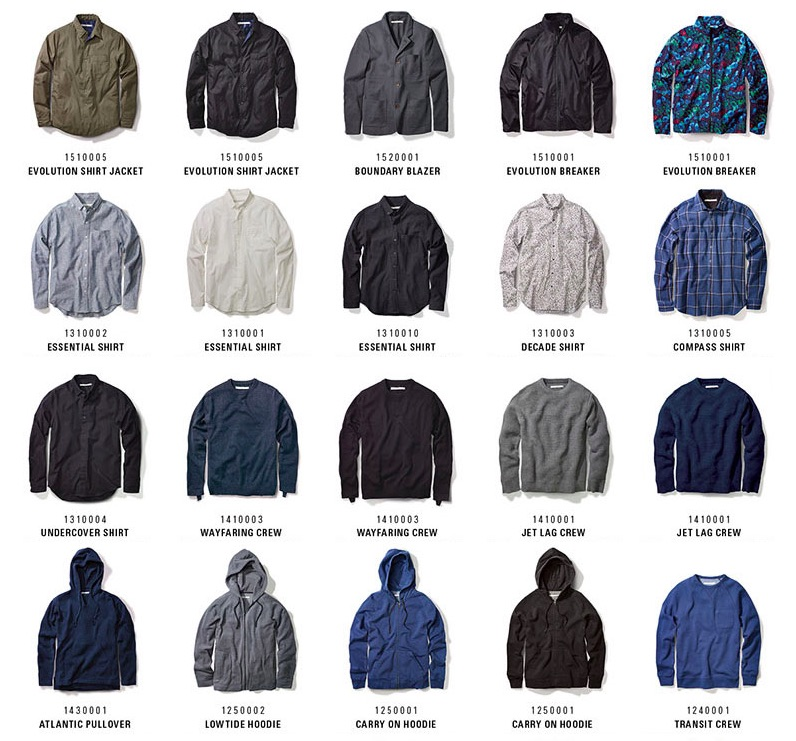 outerknown clothing range 1