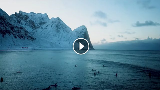 Surfers of Lofoten The First Addicts