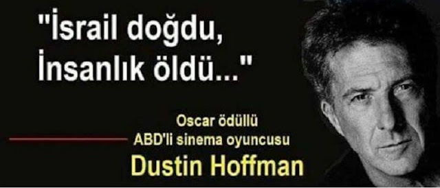 ünlü, oscar, Dustin Hoffman, İsrail, insanlık suçu, ölüm,