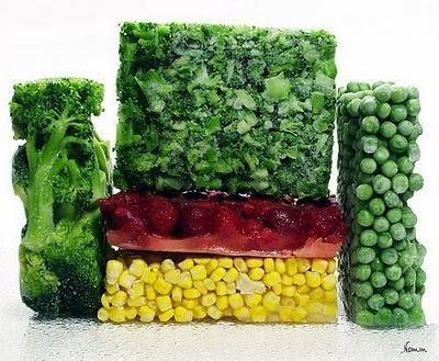 dieta con verduras congeladas