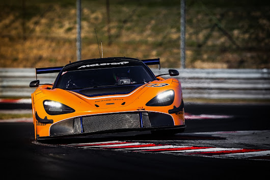 McLaren 720S GT3 to make first public debut in Bahrain