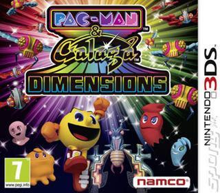Pac-Man & Galaga Dimensions, 3DS, Español, Mega