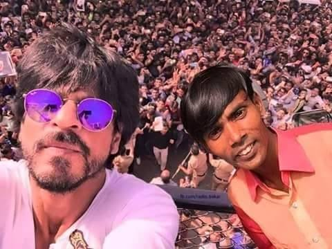 Hero alom with shahrukh khan