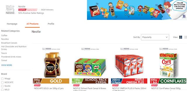 Nestle, Makanan, Grocery, Milo, Maggi, Nescafe, Barang Makanan, Lazada Malaysia, Shopathon Sale, My Favorite Brands On Lazada, Jenama, Lazada Shopathon Blogger Contest, 2018,